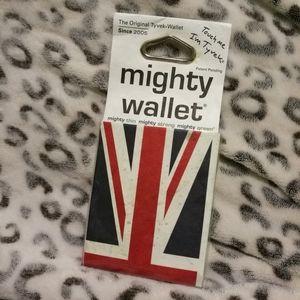 NWT Union Jack Mighty Wallet Tyvek
